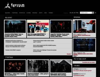 ferrum.lt screenshot