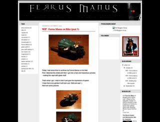 ferrusmanus.blogspot.com screenshot