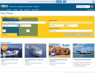 ferrybooker.com screenshot