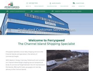 ferryspeed.com screenshot