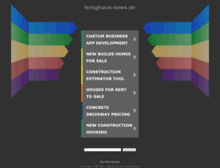 fertighaus-news.de screenshot