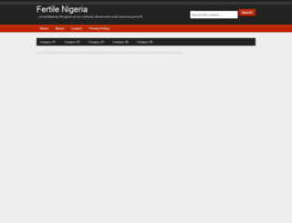 fertilenigeria.blogspot.com screenshot