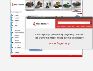 feryster.com screenshot