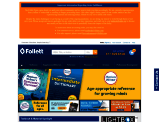 fes.follett.com screenshot