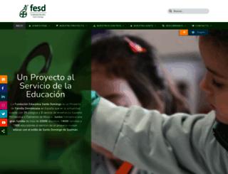 fesd.es screenshot