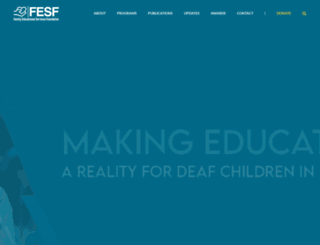 fesf.org.pk screenshot