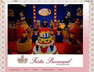 festaprovencal.blogspot.com.br screenshot