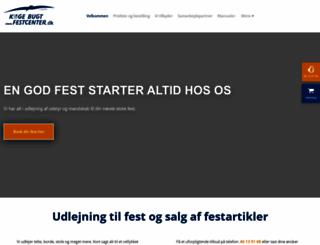festcenter.dk screenshot