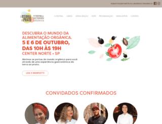 festgastronomiaorganica.com.br screenshot