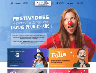 festiv-idees.fr screenshot