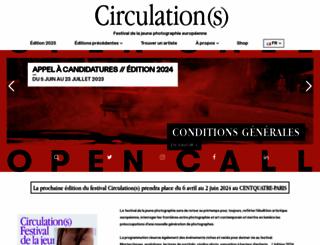 festival-circulations.com screenshot