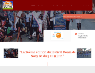 festival-donia.com screenshot