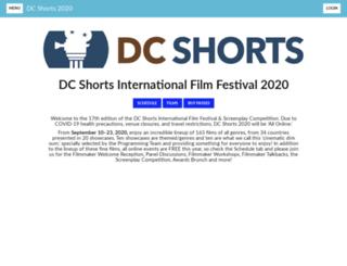 festival.dcshorts.com screenshot