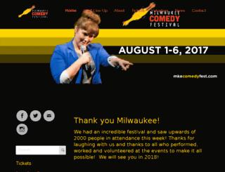 festival.milwaukeecomedy.com screenshot
