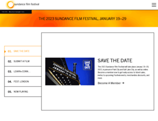 festival.sundance.org screenshot