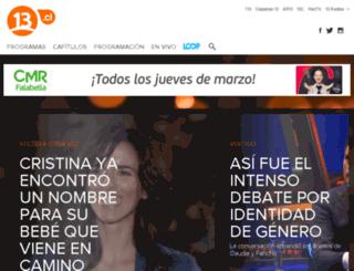 festival2010.canal13.cl screenshot