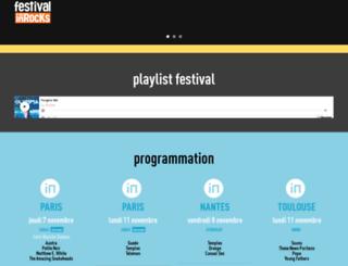 festival2012.lesinrocks.com screenshot