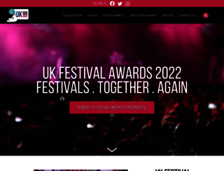 festivalawards.com screenshot