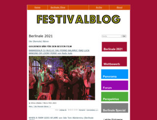 festivalblog.com screenshot