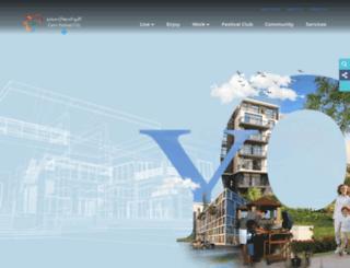 festivalcitycairo.com screenshot