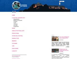 festivaldelcorto.org screenshot