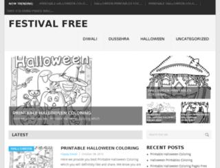 festivalfree.com screenshot