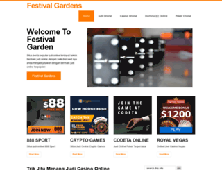 festivalgardens.com screenshot