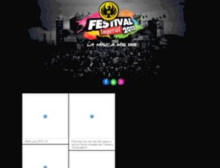 festivalimperial.com screenshot