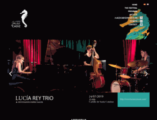 festivaljazzcadiz.com screenshot