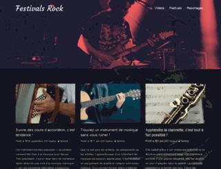 festivals-rock.com screenshot