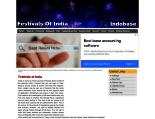 festivals.indobase.com screenshot