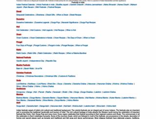 festivalsinindia.net screenshot