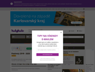 festivaly.kdykde.cz screenshot