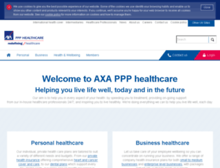 festive.axappphealthcare.co.uk screenshot