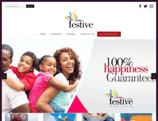 festive.com.ng screenshot