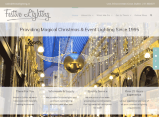 festivelighting.ie screenshot