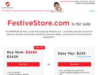festivestore.com screenshot