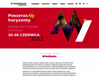festiwalinnowacji.malopolska.pl screenshot