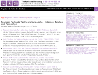 festnetz-tarif-angebote.de screenshot