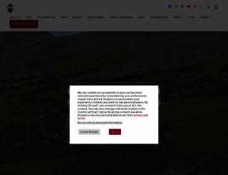 festrail.co.uk screenshot
