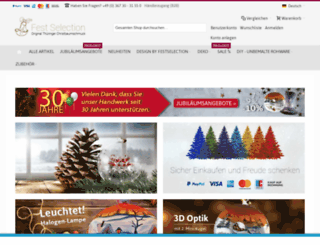 festselection.com screenshot