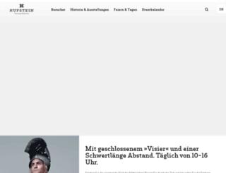 festung.kufstein.at screenshot