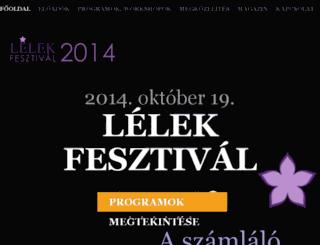 fesztival.lelekmagazin.hu screenshot