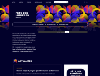 fetedeslumieres.lyon.fr screenshot