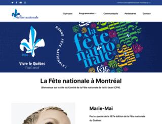 fetenationale-montreal.qc.ca screenshot