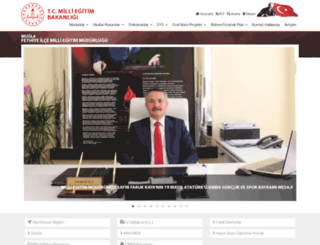 fethiye.meb.gov.tr screenshot