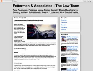 fettermanandassociates.blogspot.in screenshot