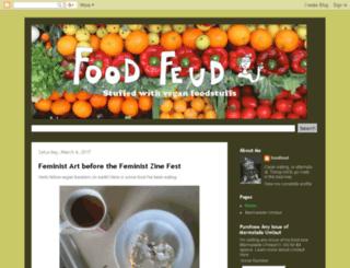 feudfood.blogspot.com screenshot