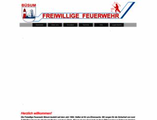 feuerwehr-buesum.de screenshot