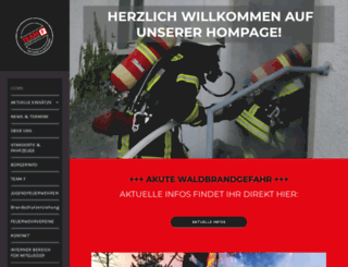 feuerwehr-seligenstadt.de screenshot
